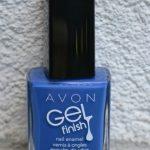 Avon Gel Finish nail polish in Royal Vendetta