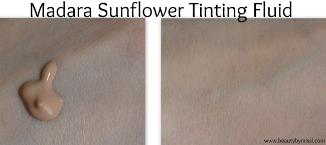 Madara Sunflower Tinting Fluid swatch