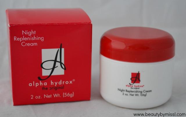 Neoteric Cosmetics Inc Alpha Hydrox Night Replenishing Cream review