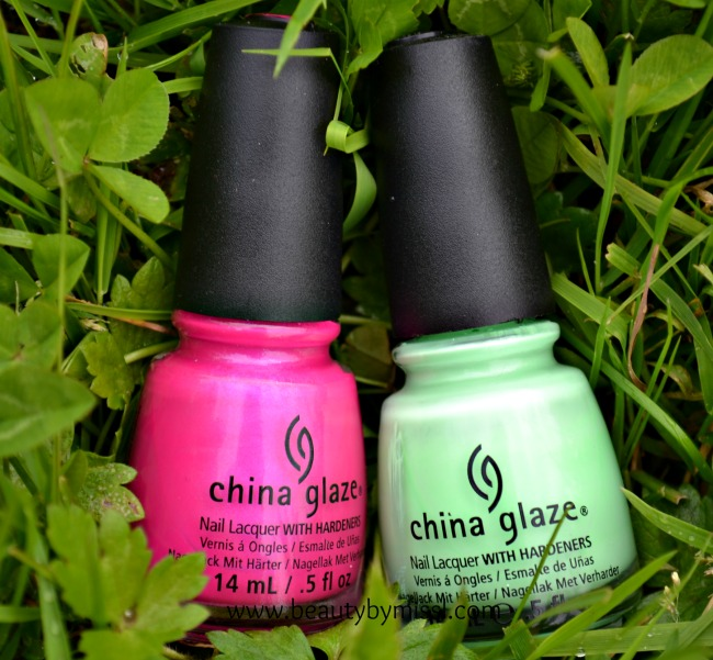 China Glaze nail polishes