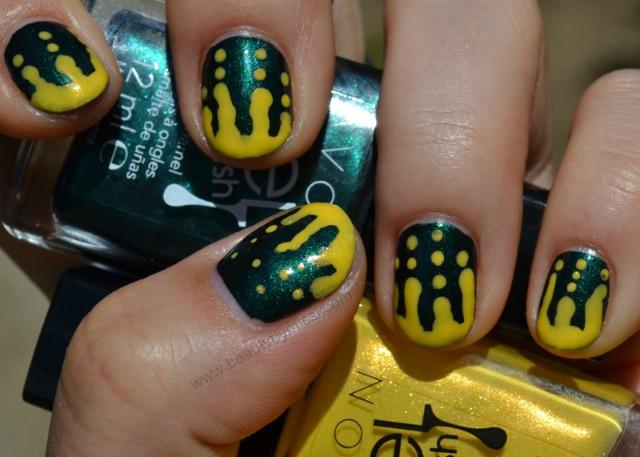 melting nail art