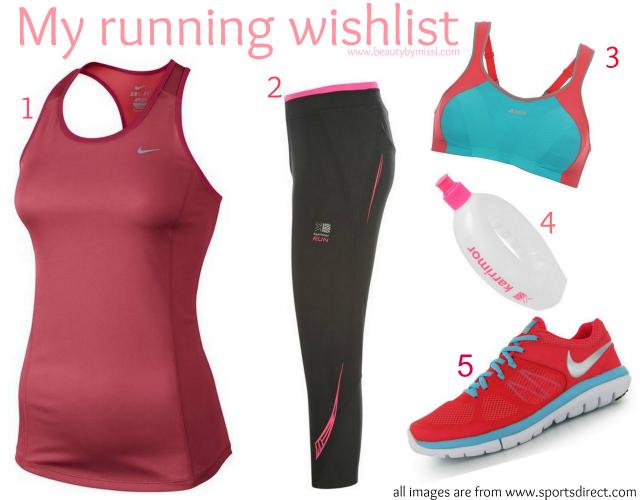 my running wish list