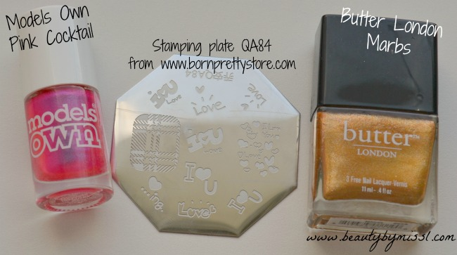 stamping plate QA84 from Born Pretty Store