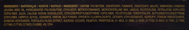 Avon Luxe lip gloss ingredients