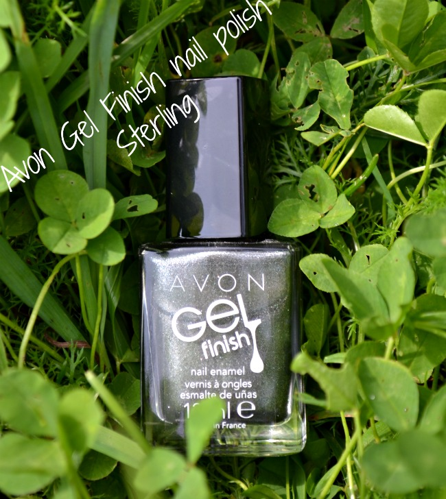 Avon Gel Finish nail polish in Sterling