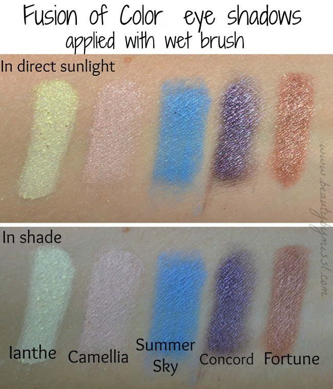fusion of color swatches