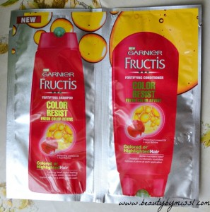 Garnier Fructis Color Resist shampoo conditioner