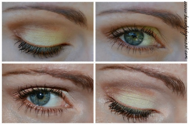 eotd with Fusion of Colors eye shadows