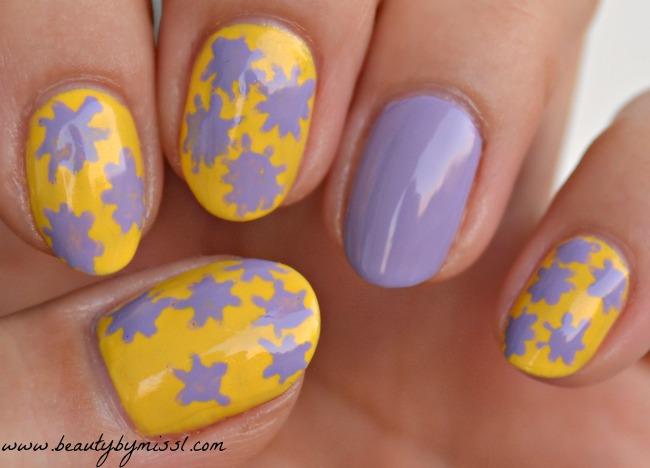 Yellow Lavender Sky