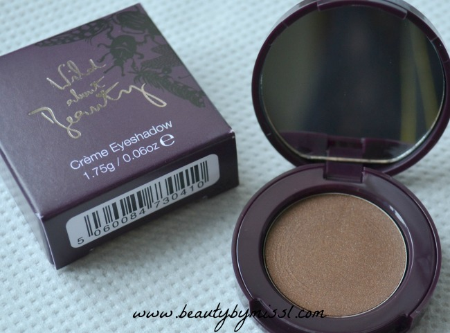 Wild About Beauty Créme Eyeshadows in 04 Matilda