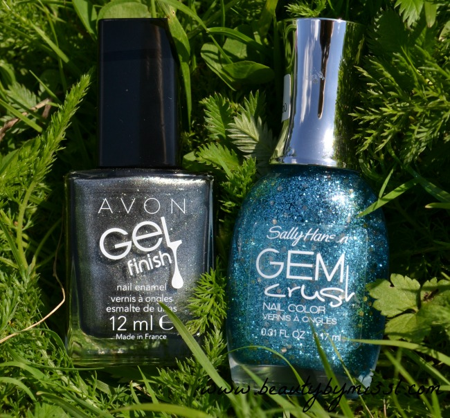 Avon Gel Finish, Sally Hansen Gem Crush