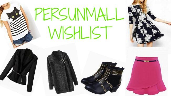 Persunmall wishlist