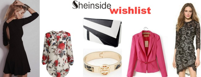 Black and white with a hint of color - sheinside.com wishlist