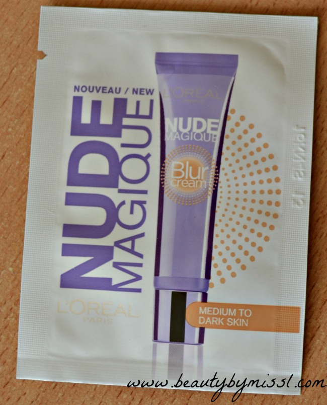 Sample Sunday: LÓreal Nude Magique Blur Cream swatches