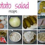 Potato salad / Kartulisalat