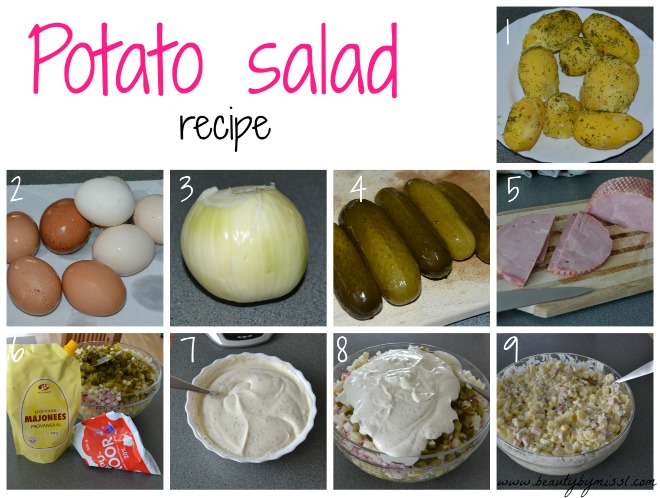 Potato salad / Kartulisalat