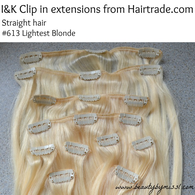 I&K Clip in hair extensions from Hairtrade