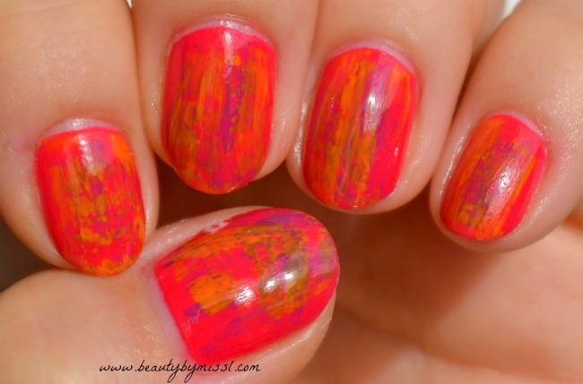 dry brush manicure