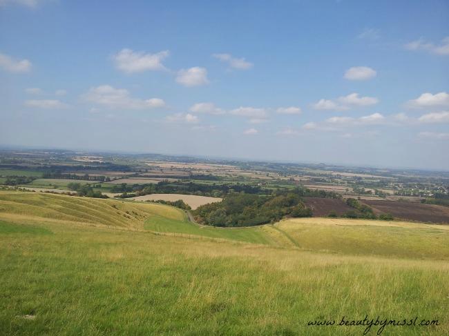 White Horse Hill in Uffington