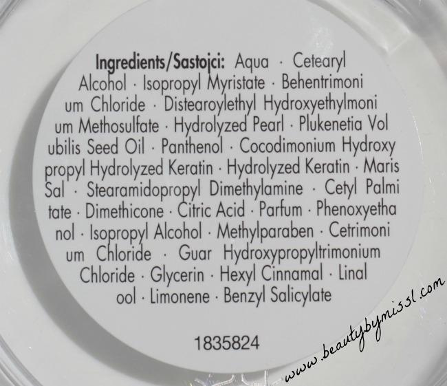 Schwarzkopf Essence Ultime Omega Repair mask ingredients