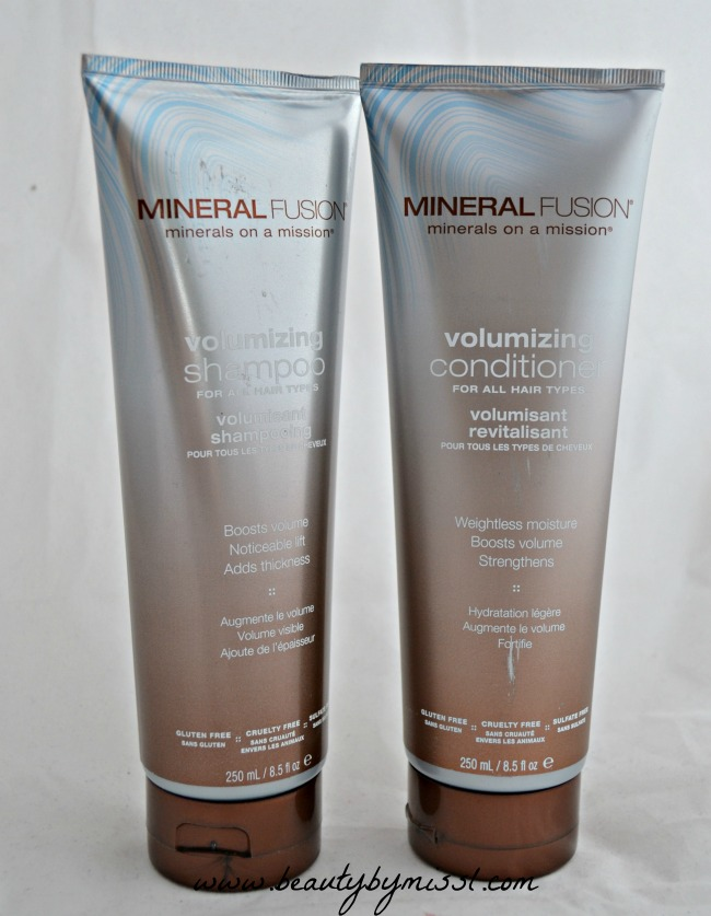 Mineral Fusion Volumizing Shampoo & Conditioner