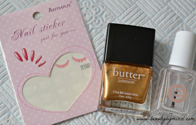 Butter London Marbs, water decals from BPS