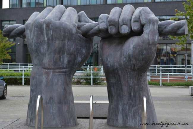 All Hands sculpture
