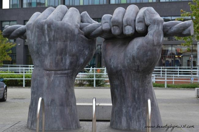 All Hands sculpture