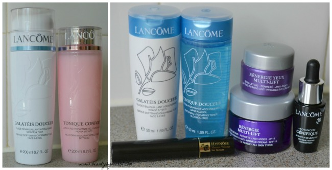 Lancome products from Feelunique