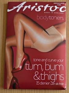 Aristoc Bodytoners Tum Bum and Thigh Low Leg Toner Tights
