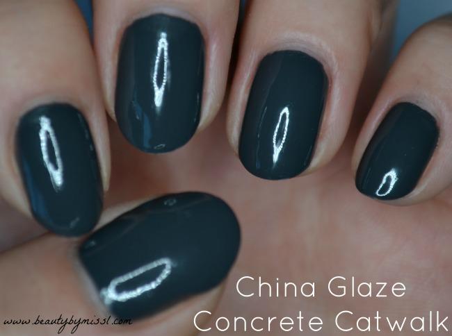China Glaze Concrete Catwalk