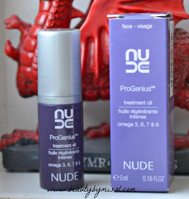Nude ProGenius Omega Treatment Oil