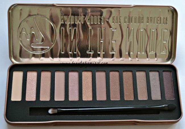 W7 In The Nude eyeshadow palette
