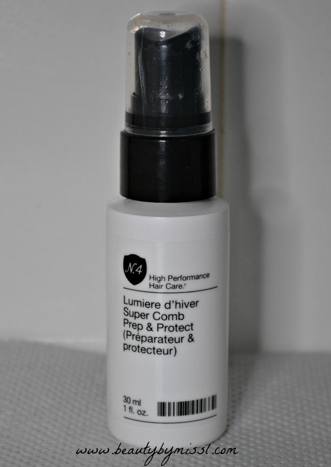 N 4 Lumiere d'hiver Super Comb Prep & Protect