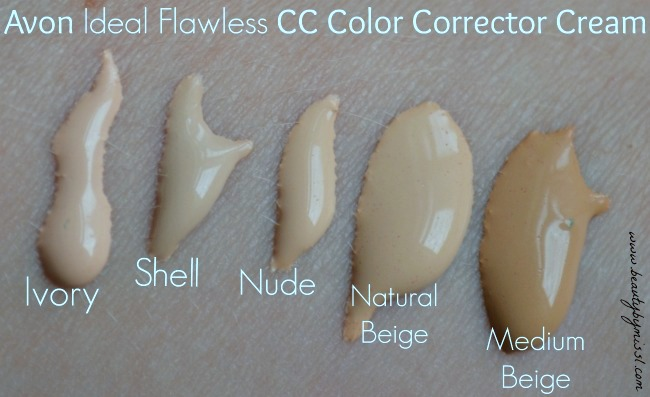 Avon Ideal Flawless CC Color Corrector Cream