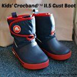 Kids' Crocband II.5 Gust Boot