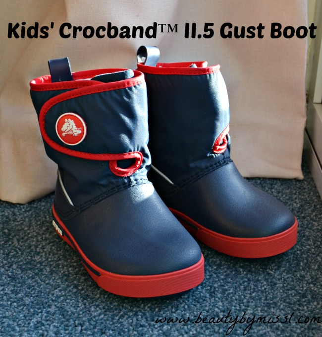 Crocs  Kids' Crocband II.5 Gust Boot