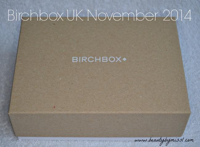 Birchbox UK November
