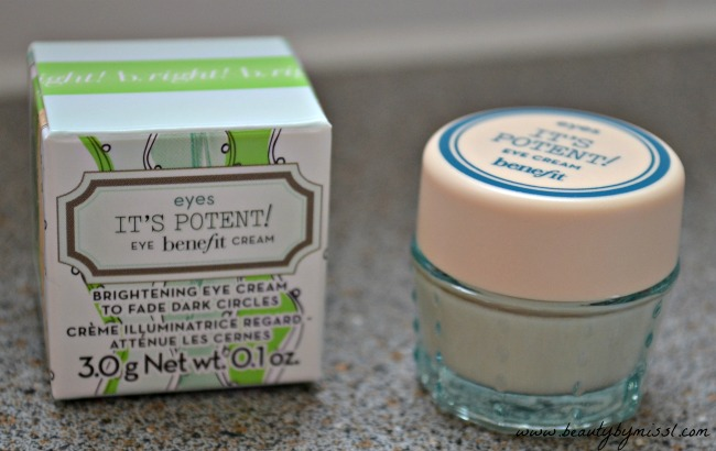 Benefit It's Potent eye cream