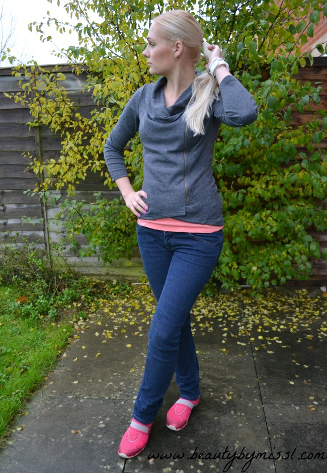 OOTD: Grey Jumper from Sheinside