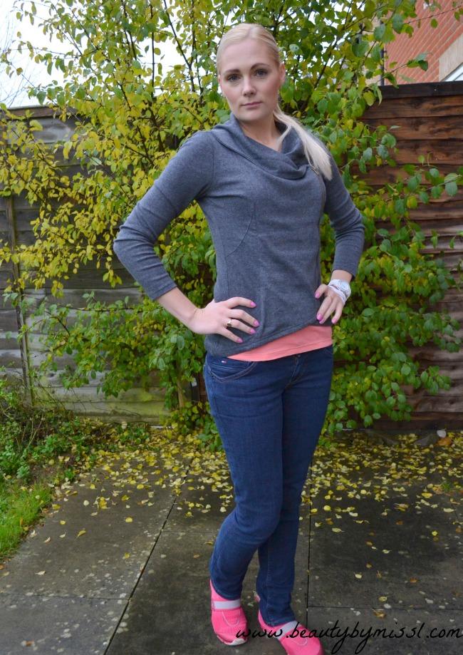 OOTD: Grey Jumper from Sheinside