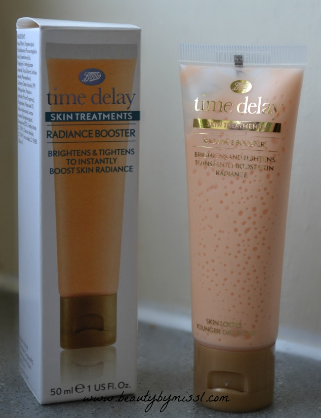 Boots Time Delay Radiance Booster  review