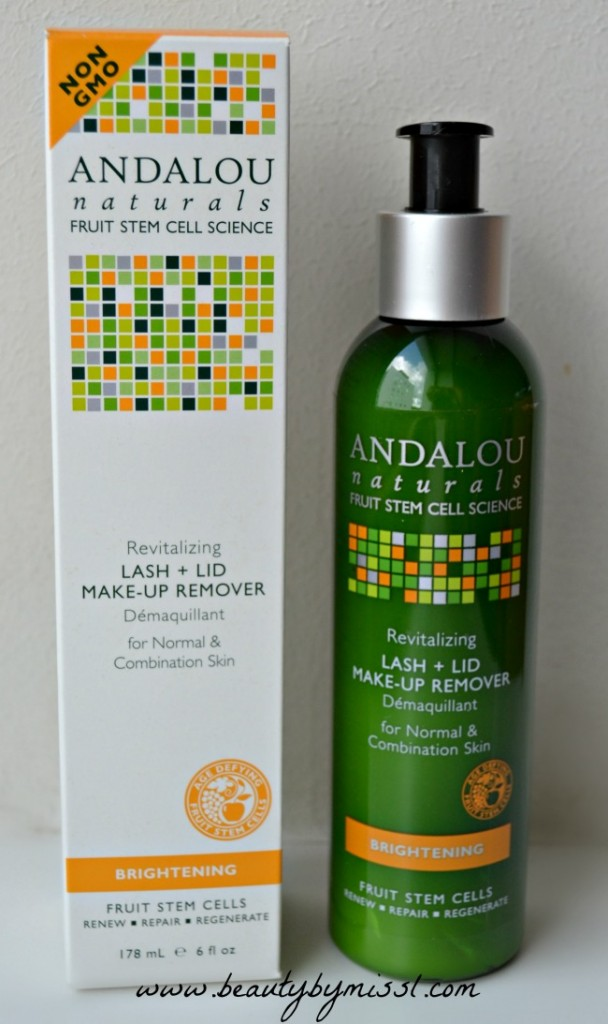 Andalou Naturals makeup remover