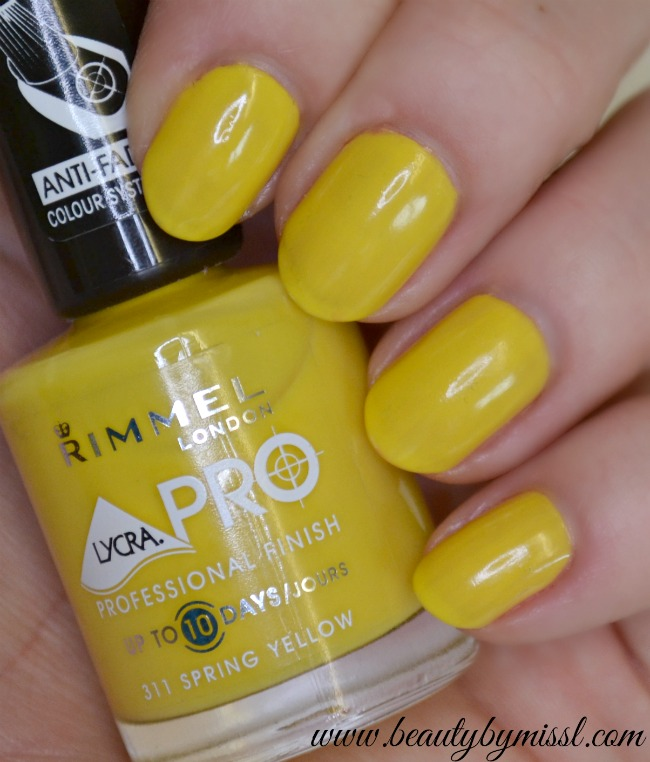 Rimmel 311 Spring Yellow