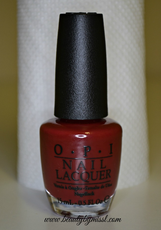 OPI I'm Suzi and I'm a Chocoholic