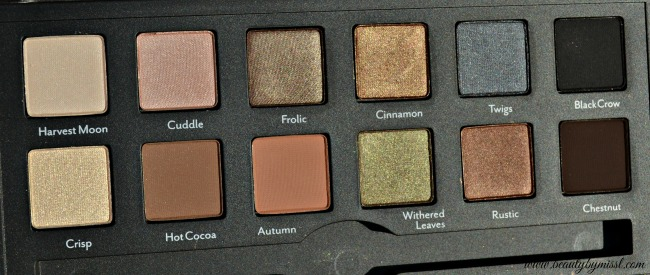 Cargo Cosmetics Vintage Escape Eye Palette