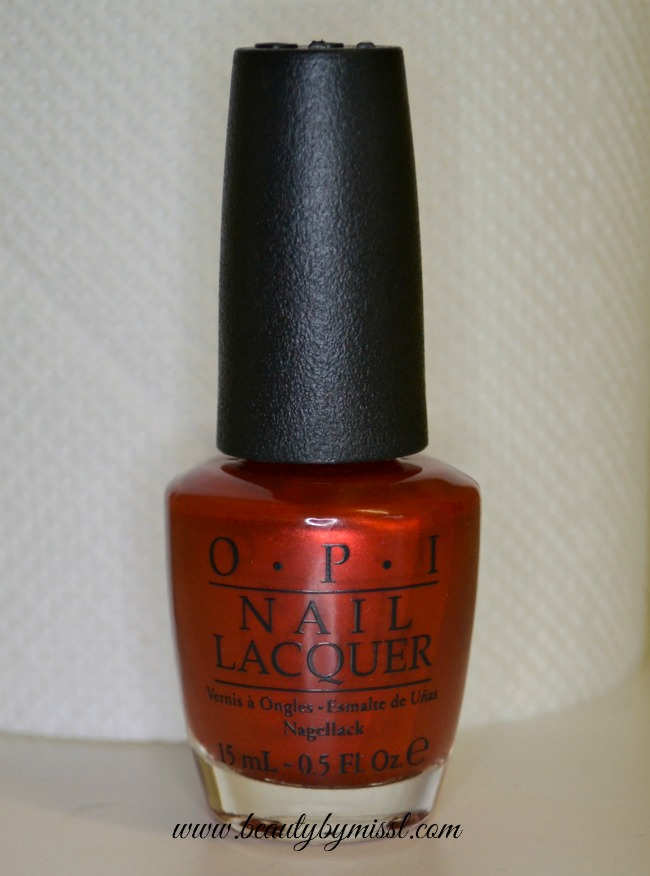 Redcoattuesday Opi Deutsch You Want Me Baby Beauty By