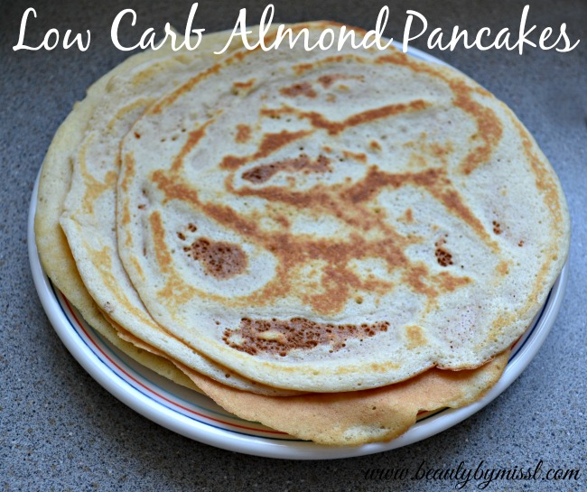 Low Carb Almond Pancakes