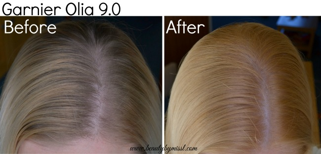 Garnier Olia review before after