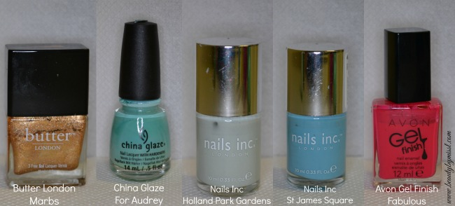 Top 10 most used nail polishes of 2014